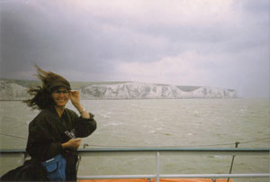 at the Dover Cliffs