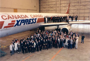 Air Canada's retiring of the DC8 airplane